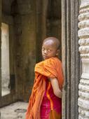 Ung Buddhist munk, Cambodia