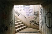 Klotter i trappa