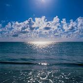 Indiska oceanen vid Zanzibar