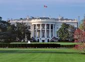Vita Huset i Washington D.C, USA