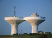 Tvillingvattentorn vid Ystad, Skåne