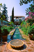 Generalife, Spanien