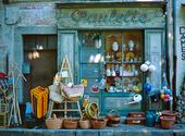 Sliten butik, Frankrike