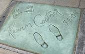 Kevin Costner. Hollywood Boulevard.