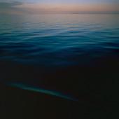 Skymning, himmel och hav