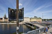 Slussen under ombyggnad, Stockholm