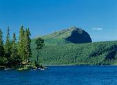 Kultsjön med Marsfjället, Lappland