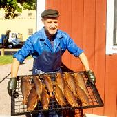 Rökeri i Hjo, Västergötland