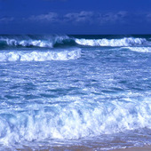 Havskust, vågor