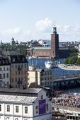 Stockholms stadshus från Slussen
