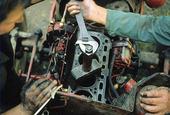 Reparation av motor