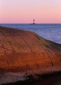 Raises the lighthouse at the Bulls' boiler, Bohuslän