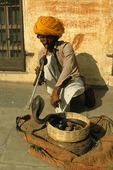 Ormtjusare, Indien