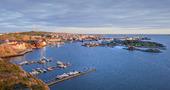 Vy över Kungshamn, Bohuslän