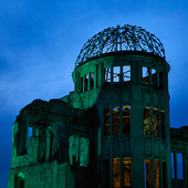 A-bomb Dome i Hiroshima, Japan