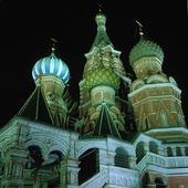 St. Basilkatedralen i Moskva, Ryssland