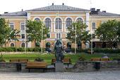 Stadshotellet vid Rådhusparken i Hudiksvall, Hälsingland