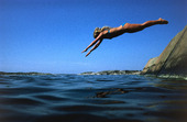 Dyk från klippa