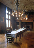 Interiör i Tjolöholm slott, Halland