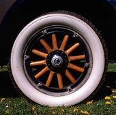 Hjul på veteranbil