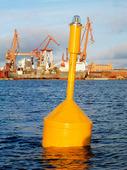 Sjömärke i Göteborgs hamn