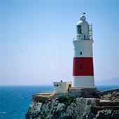 Gibraltars fyr Storbritannien