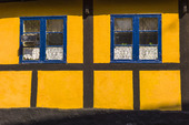 Korsvirkeshus på Bornholm