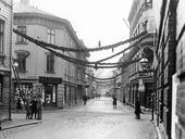 Julstämning på Husargatan 1929, Göteborg