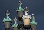Lampor på Kungsportsbron, Göteborg