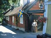 Café i Sigtuna, Uppland