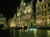 Rådhusplatsen i Bryssel, Belgien