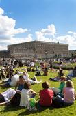 Människor i Kungsträdgården, Stockholm