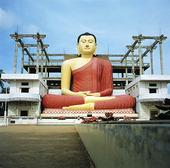 Buddha staty vid Matara, Sri Lanka