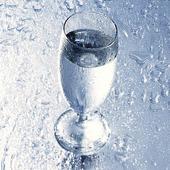 Ett glas vatten