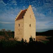 Den översandade kyrkan på Skagen, Danmark