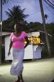 Kvinna på Tobago