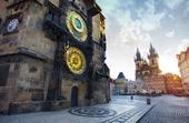 Astronomiska klockan i Prags gamla stan, Tjeckien