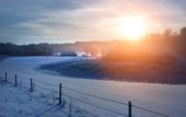 Vinterlandskap i Sverige