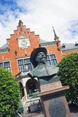 Gustaf 2:e Adolf staty i Umeå, Västerbotten