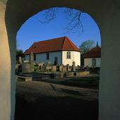Kalle Reds medieval church, Västergötla