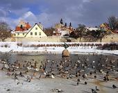 Vintertid i Visby, Gotland