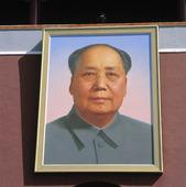 Tavla på Mao Zedong i Beijing, Kina