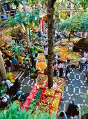 Marknad i Funchal på Madeira, Portugal