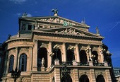 Operahus i Frankfurt am Main, Tyskland