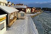 Vinter vid Smögen, Bohuslän