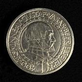 2-kronors silvermynt 400-årsminnet av Gustav Vasas befrielseverk 1921