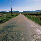 Rak landsväg, Irland