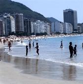 Copacabana i Rio de Janeiro, Brasilien