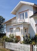 Villa med balkong