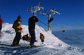 Skidåkare vid Åreskutan, Jämtland